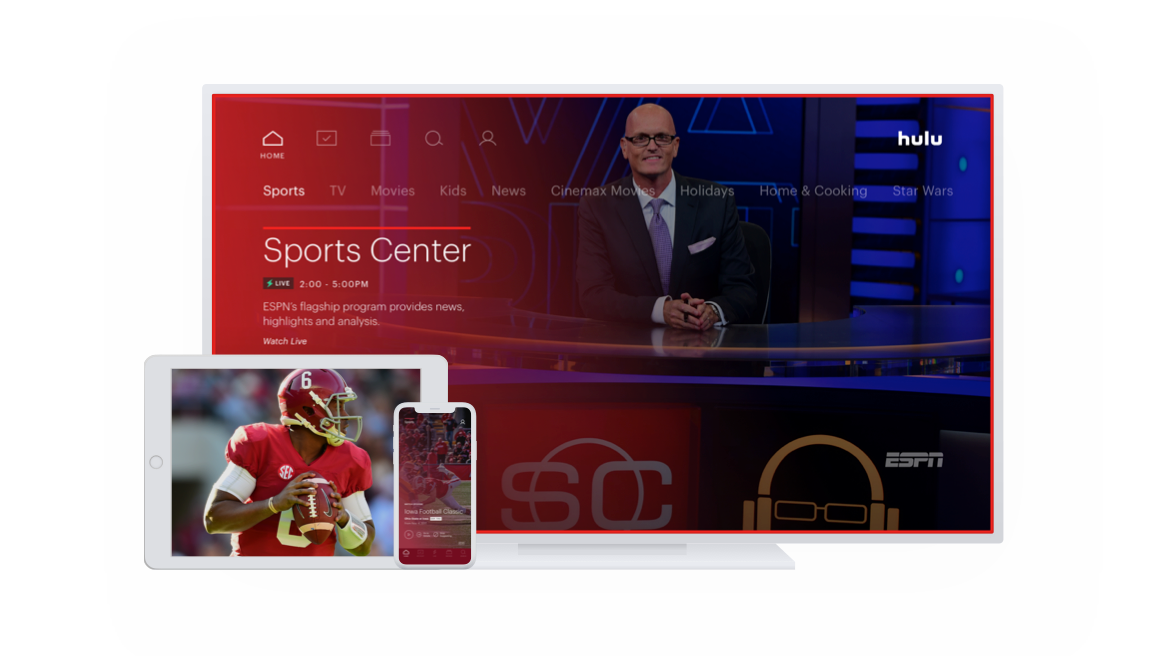 Watch Live Sports On Hulu TV