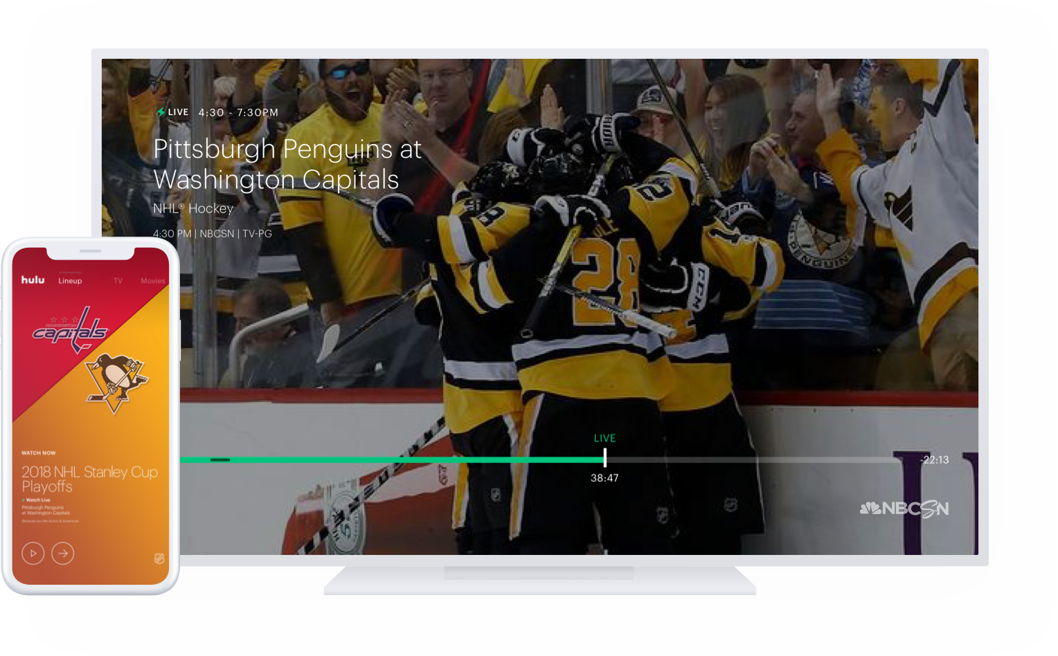 Stream Nhl Games On Hulu Watch Live Sports Online On Hulu